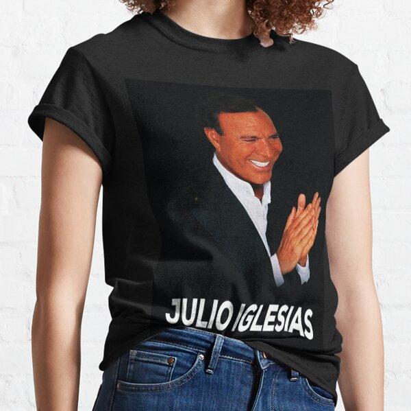 Mejor arte de la banda de música de Julio Iglesias Camiseta clásica