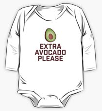 Extra Avocado Please One Piece - Long Sleeve