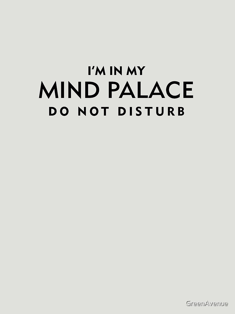 Mind Palace Black   Unisex T-Shirt