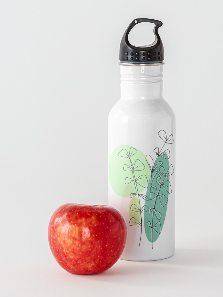 Alternate view of leaves Water Bottle