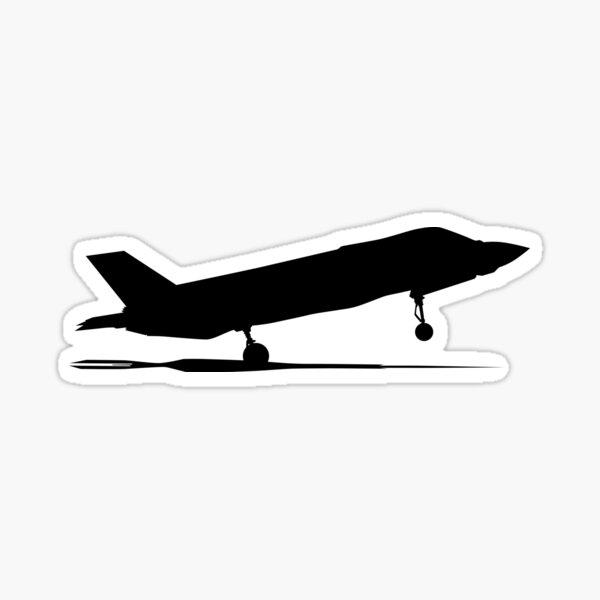 Air Force stealth F-35 Lightning II fighter jet. F 35 jet fighter. f-35, f-35a, f-35b, f-35c, f-35a usaf, f-35b us marines, f-35c us navy Sticker