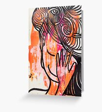 Embarrassed? Greeting Card