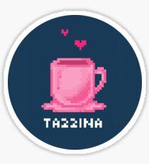 Tazzina Teacup Pixel Sticker