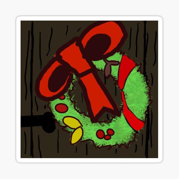 la guirlande de Noël pour un joyeux Noël :) Sticker