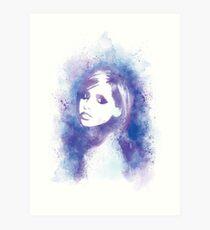 SMG Watercolor Portrait Art Print