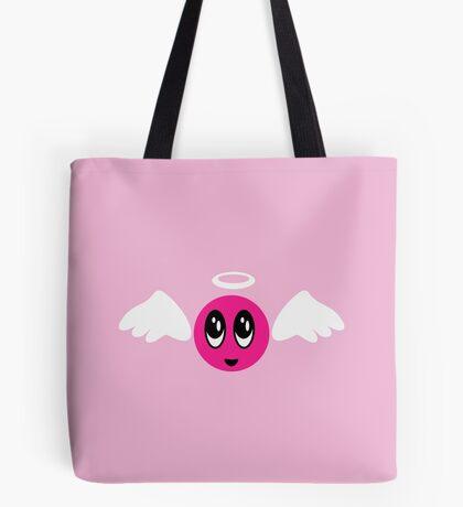 Angel Smiley (pink) VRS2 Tote Bag