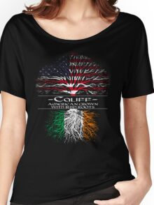 Califf - American Grown with Irish Roots Women's Relaxed Fit T-Shirt