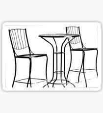 Patio Furniture Sticker