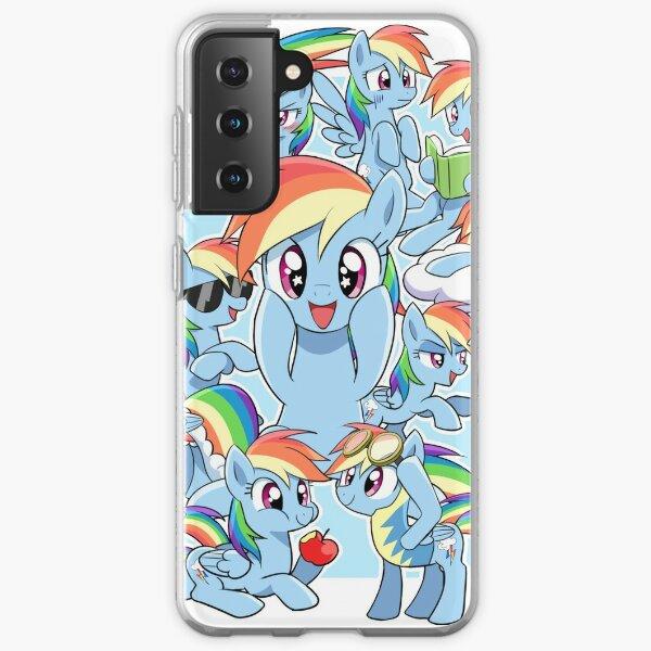 Every Rainbow Dash EVER Samsung Galaxy Soft Case