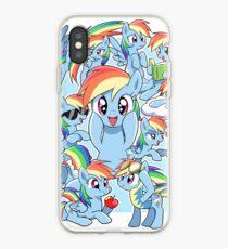Every Rainbow Dash EVER iPhone Case
