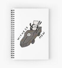 Witness Mew! Spiral Notebook