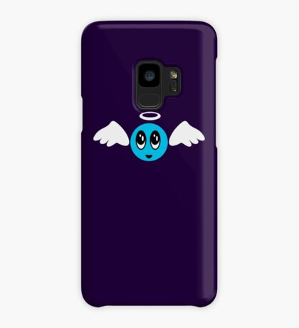 Angel Smiley (blue) VRS2 Case/Skin for Samsung Galaxy