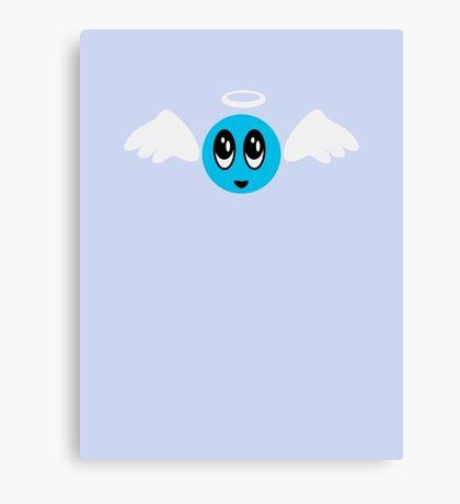 Angel Smiley (blue) VRS2 Canvas Print