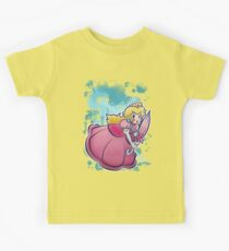 Princess Peach T-shirt Kids Tee