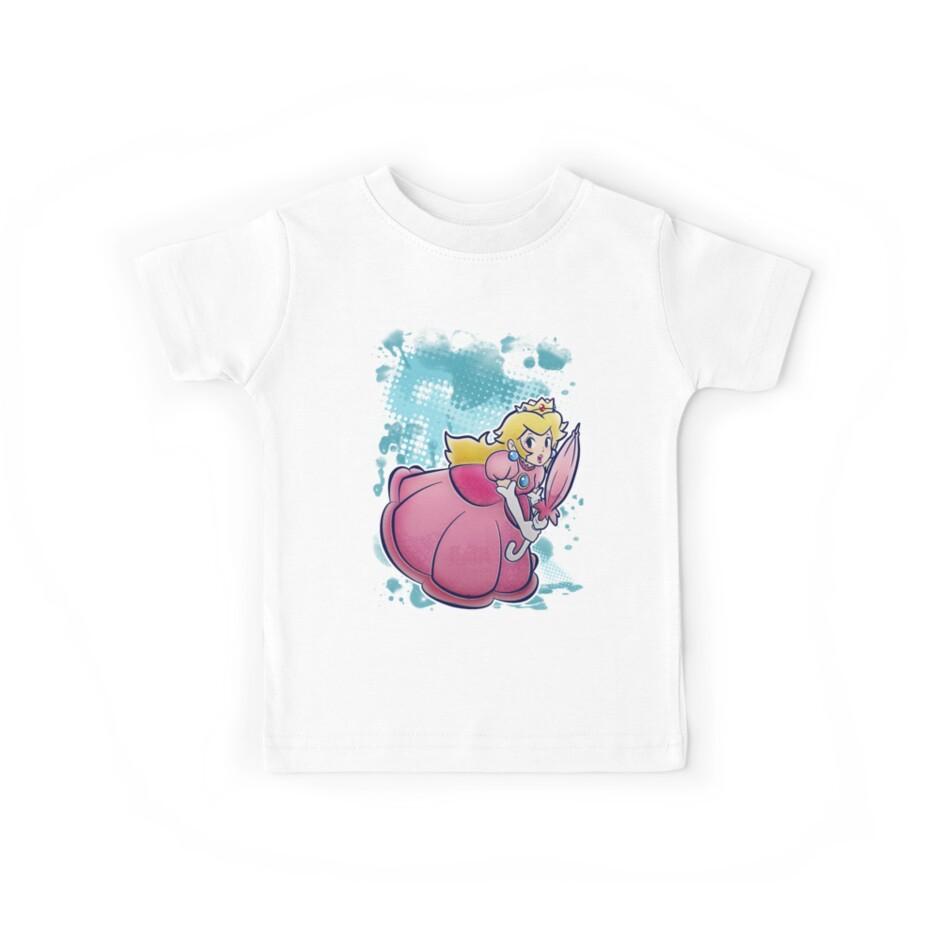 Princess Peach T-shirt by SaradaBoru