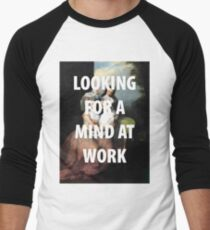 A MIND AT WORK Men's Baseball ¾ T-Shirt