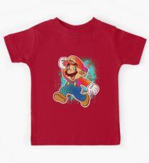 Mario Wahoo Kinder T-Shirt