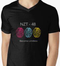 Limitless NZT-48 T-Shirt Men's V-Neck T-Shirt