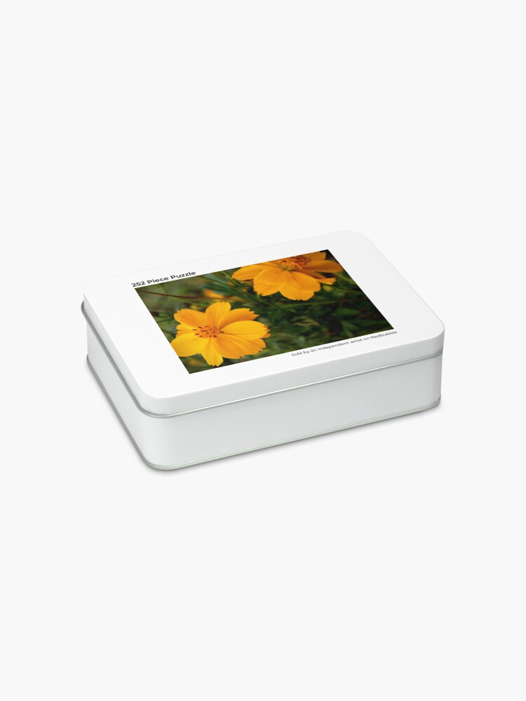 Alternate view of Golden Coreopsis Jigsaw Puzzle