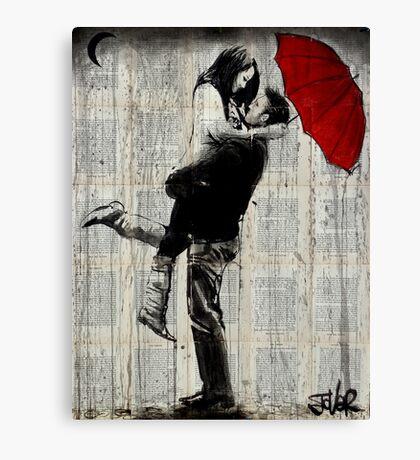 rainy day passion Canvas Print