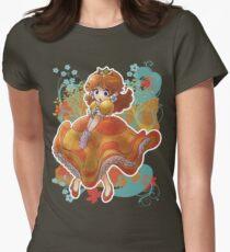 Princess Daisy T-shirt Womens Fitted T-Shirt