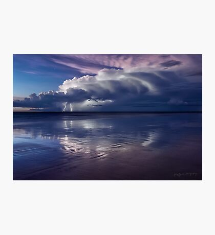 Cable Beach Lightning Photographic Print