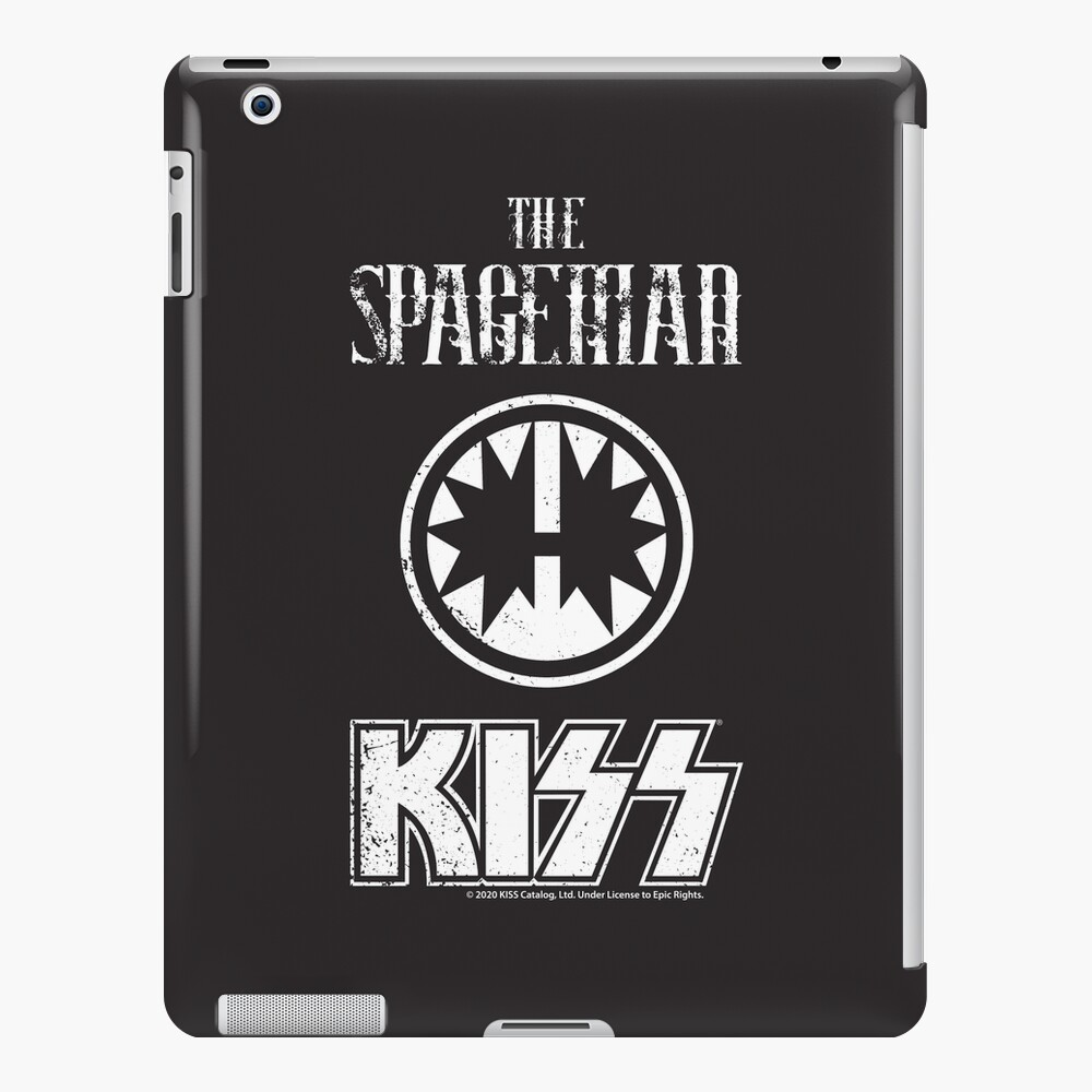 KISS Band-The Spaceman- Grunge Distorted vintage iPad Case & Skin