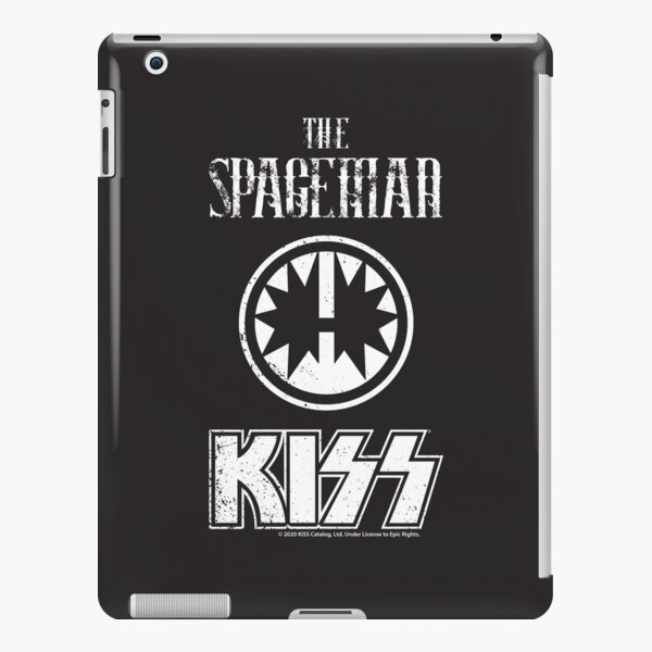 KISS Band-The Spaceman- Grunge Distorted vintage iPad Snap Case