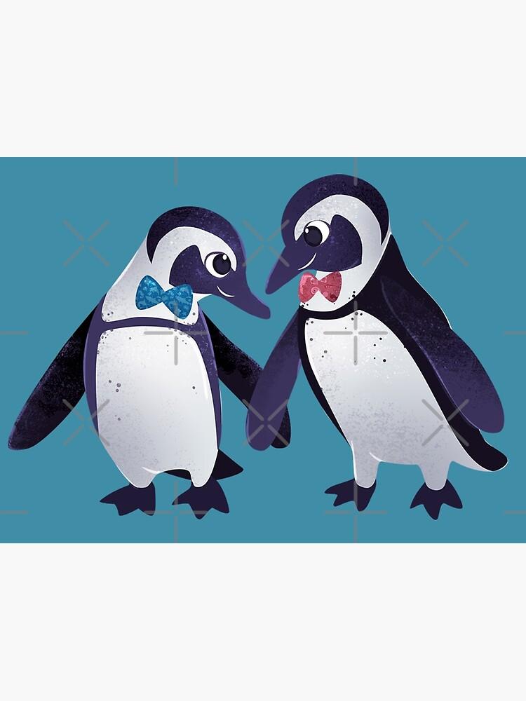 Dapper Penguins by seasofstars