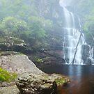 Kalang Falls, Kanangra Boyd National Park, New South Wales, Australia by Michael Boniwell