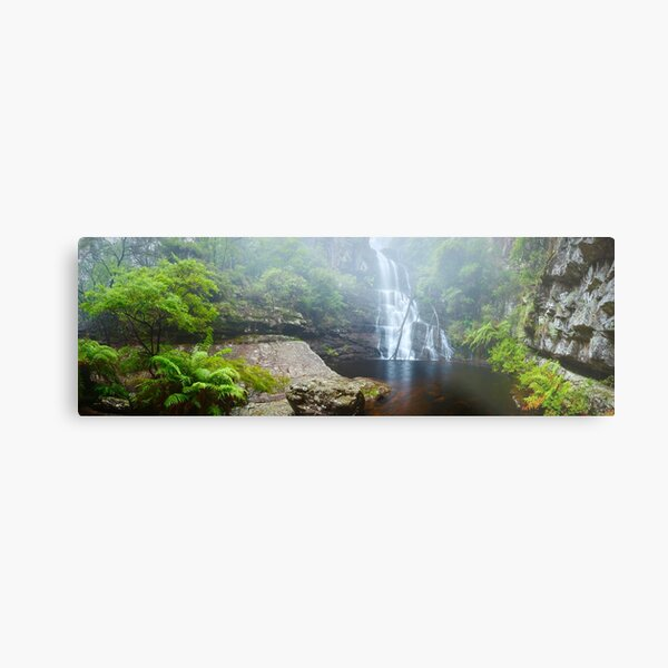 Kalang Falls, Kanangra Boyd National Park, New South Wales, Australia Metal Print