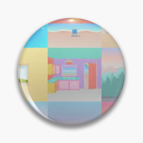 Surfaces Album Covers Pin