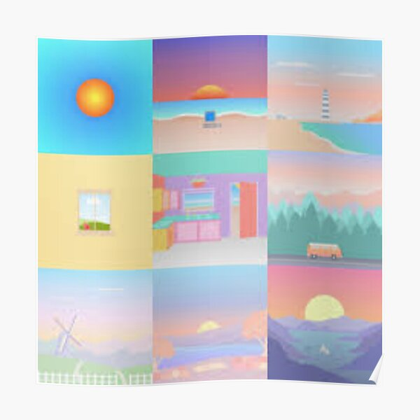 Surfaces Album Covers Poster