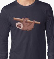 Hanging Sloth Long Sleeve T-Shirt