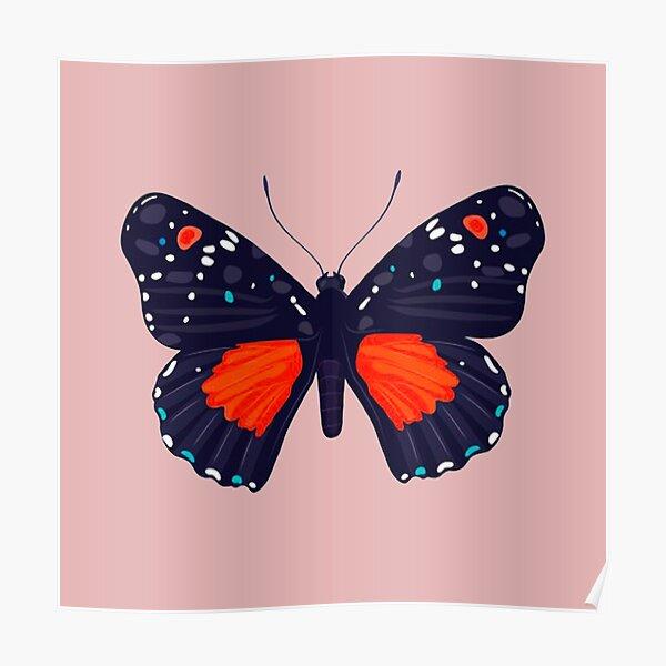 Lovely Butterflies Poster