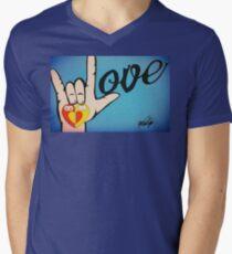 Love Sign Language Art T-Shirt