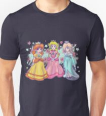 Princess Peach, Daisy and Rosalina Unisex T-Shirt