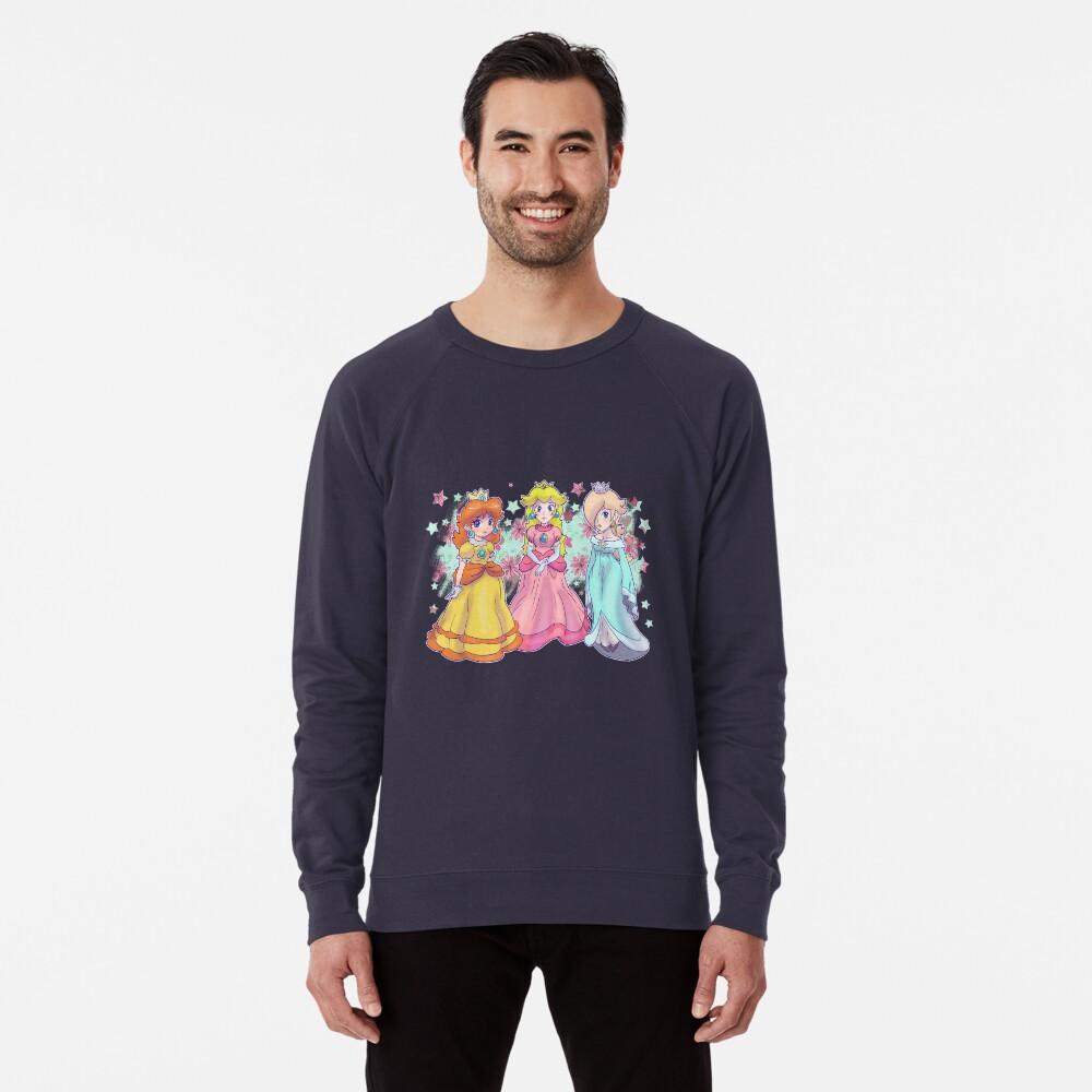 Prinzessin Peach, Daisy und Rosalina Leichtes Sweatshirt