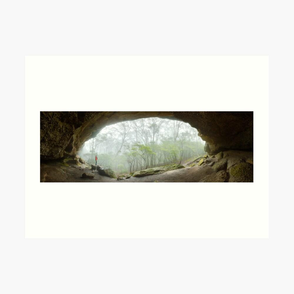 Dance Floor Cave, Kanangra Boyd National Park, New South Wales, Australia Art Print