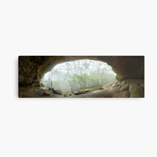 Dance Floor Cave, Kanangra Boyd National Park, New South Wales, Australia Metal Print