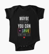 Maybe you can SAVE something else One Piece - Short Sleeve