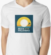 Beach volleyball  Mens V-Neck T-Shirt