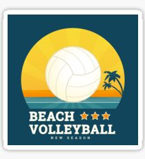 Beach volleyball  Sticker