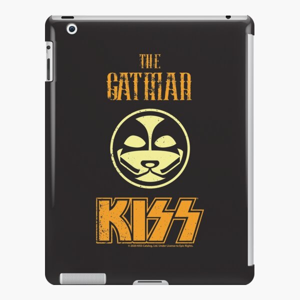 KISS Band-The Catman- Grunge Distorted vintage iPad Snap Case