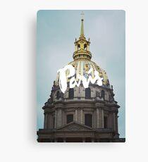Les invalides Paris Europe Architecture Canvas Print
