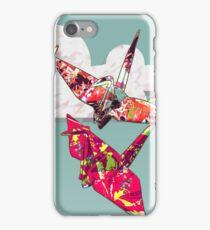 Paper Cranes iPhone Case/Skin