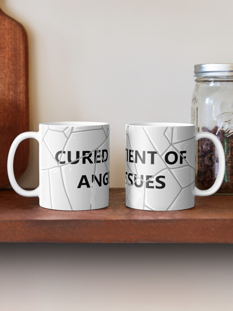 Alternate view of Anger Issues Mug Mug