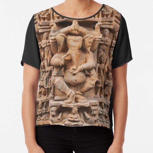 Dancing Ganesh Chiffon Top