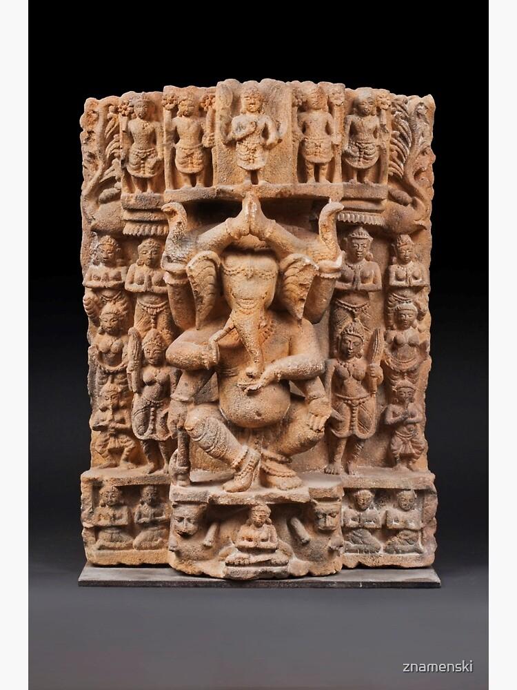 Dancing Ganesh by znamenski