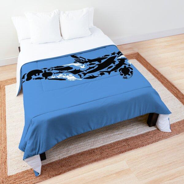 Ocean Orca Comforter